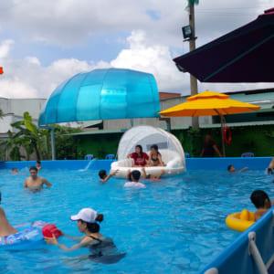 Lợi ích kinh doanh công viên nước bơm hơi dưới nước